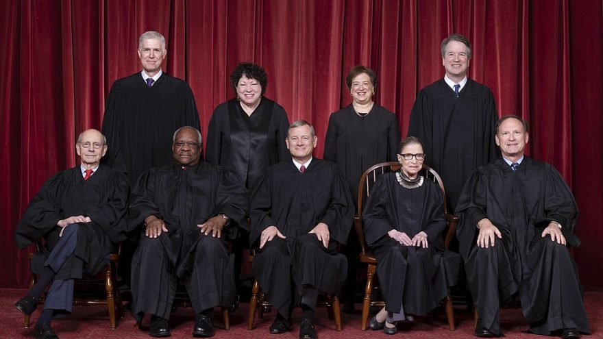 Is Justice Roberts Campaigning From The Bench?