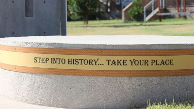 https://commons.wikimedia.org/wiki/File:Step_Into_History_-_Take_Your_Place_-_Juneteenth_Memorial_-_George_Washinton_Carver_Museum.jpg