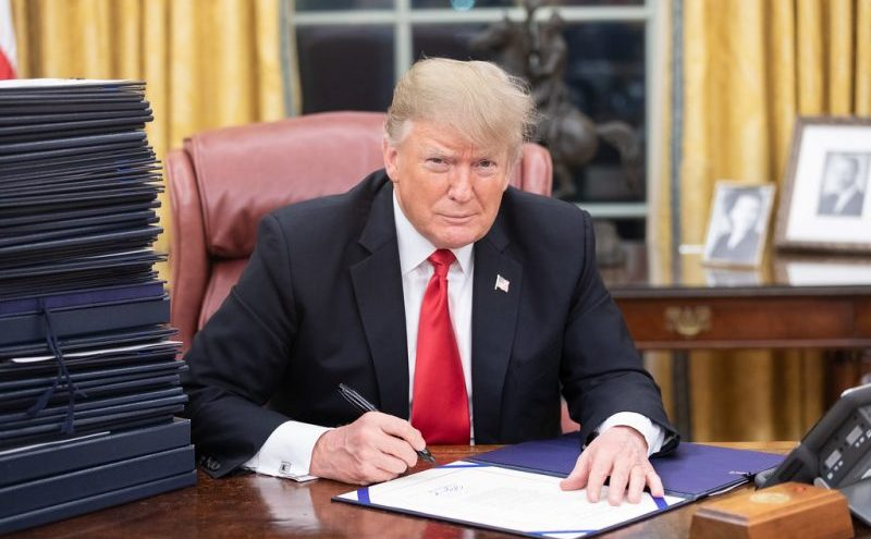 Trump Pens Scathing Letter to Senator Schumer